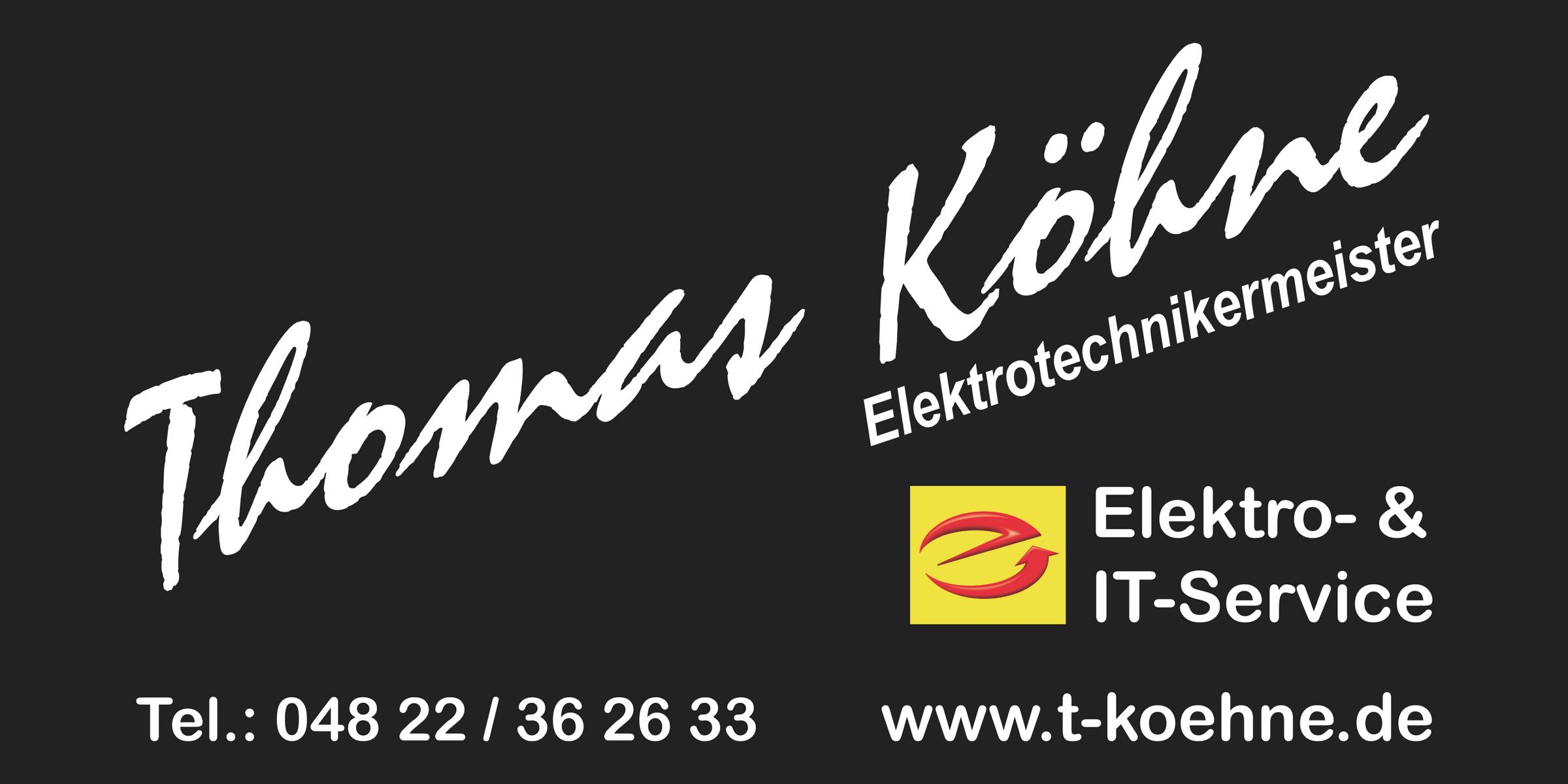 Thomas Köhne Elektro-& IT-Service